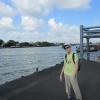 Причал водного трамвая. Бангкок. Таиланд.