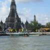 Вид на Ват Арум с воды. Бангкок.