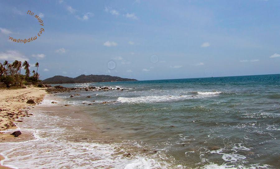 Таиланд. Путеводитель. Самуи. Пляжи. Пляж на юге Самуи.