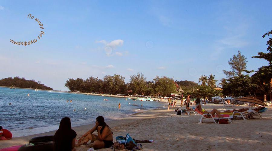 Таиланд. Путеводитель. Самуи. Пляжи.
