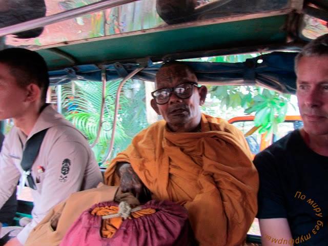 Таиланд. Путеводитель. Кочанг. Как добраться. Автобус. Монах.