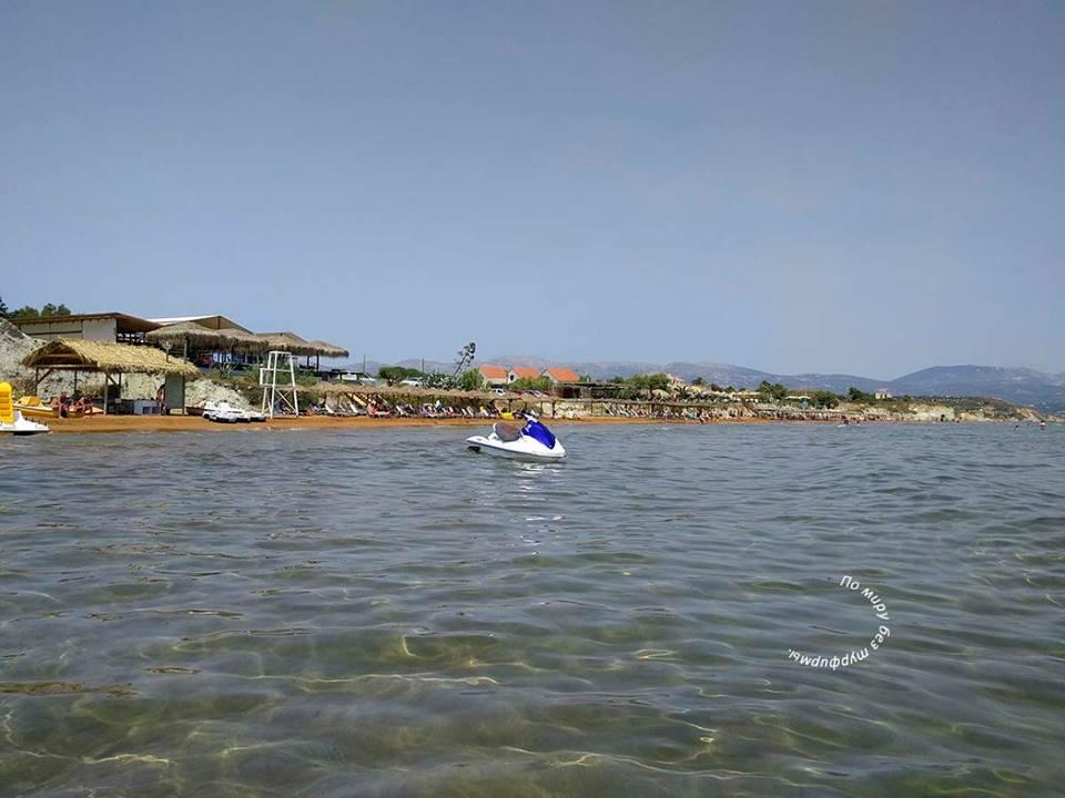 Путеводитель по греции. путеводитель по кефалонии. пляжи кефалонии. пляж кси. Xi_Beach cefalonia