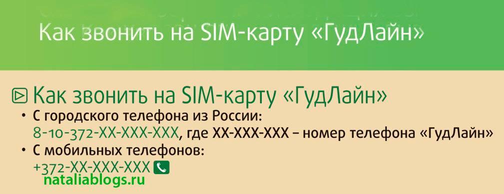 Международный роуминг. Как звонить дешево. Туристическая СИМ-карта Гудлайн. Как звонить на SIM-карту Гудлайн.