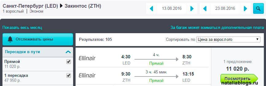 Купить авиабилет в грецию из спб билет на самолет москва варна дешево