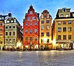Авиабилеты: из Санкт-Петербурга в Швецию туда-обратно 6200 рублей.