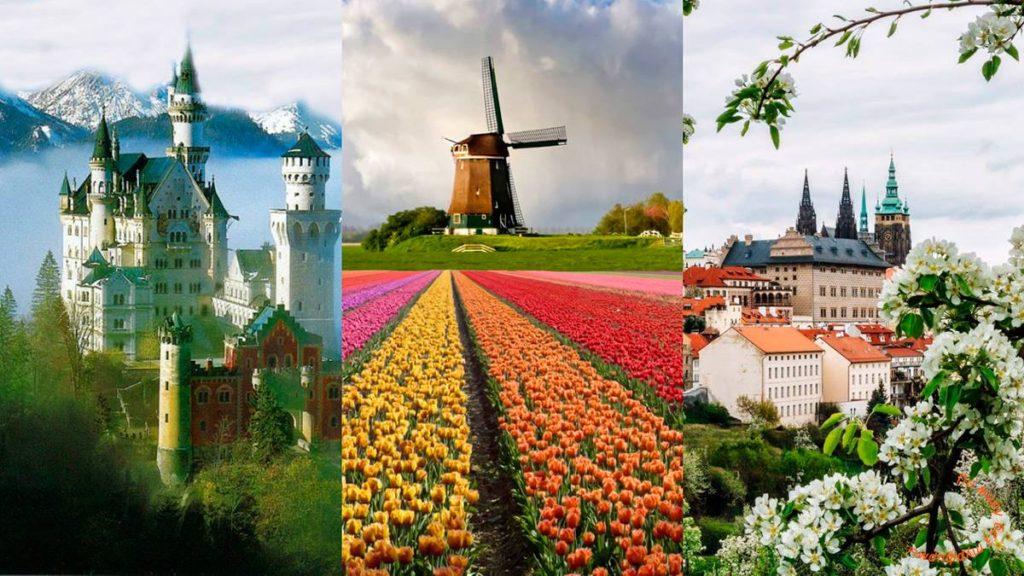 Маршрут самостоятельного путешествия по германии