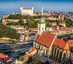 Авиабилеты: из Москвы в Братиславу за 4900 рублей туда-обратно.