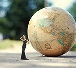 Путешествие вокруг света за 30 дней и 60000 рублей.