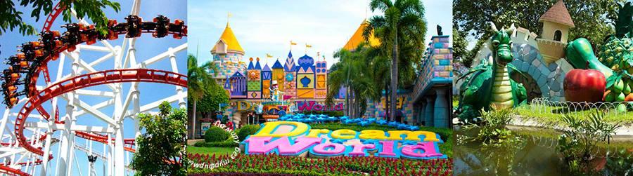 Бангкок для детей. Лучшие развлечения со скидками. Лайфхаки для бюджетных путешествий. Dream World-Парк Мечты. Билеты дешево.