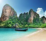 Все о полуострове Рейли (Краби) — пляжи, питание, как доехать, жилье. Путеводитель по Таиланду.