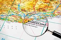 Испания путеводитель, Испания Барселона достопримечательности, карта Барселоны с достопримечательностями на русском, Барселона гид