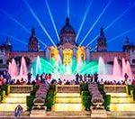 Поющие фонтаны в Барселоне. Магический, Волшебный фонтан Монжуик. Бесплатно!!!