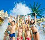Аквапарк Сиам парк на Тенерифе. Продолжение — горки, рестораны, дети …