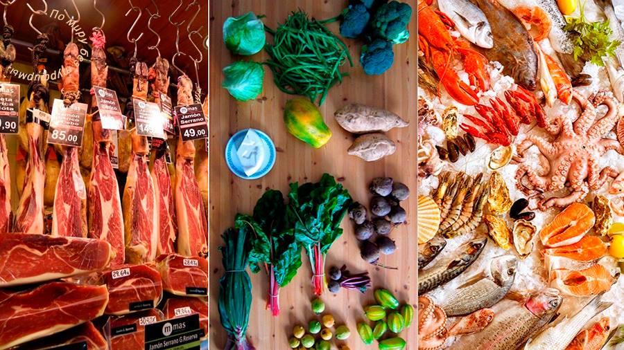 рыба Тенерифе, рынки на Тенерифе, фрукты на Тенерифе, шоппинг на Тенерифе