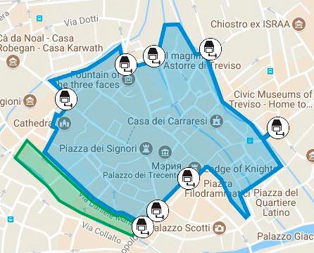 Treviso Италия достопримечательности Тревизо за один день,город Тревизо Венето,