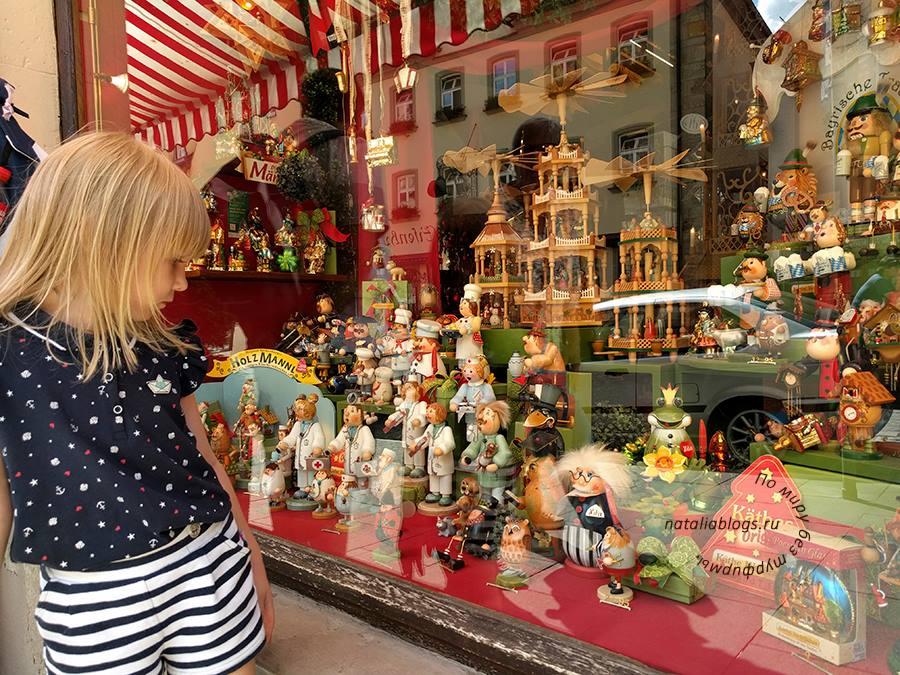 Город Ротенбург-на-Таубере. Рождественская деревня