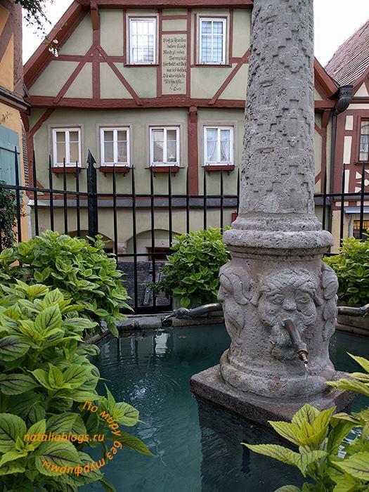 Германия. Ротенбург. Бавария. Фото достопримечательностей