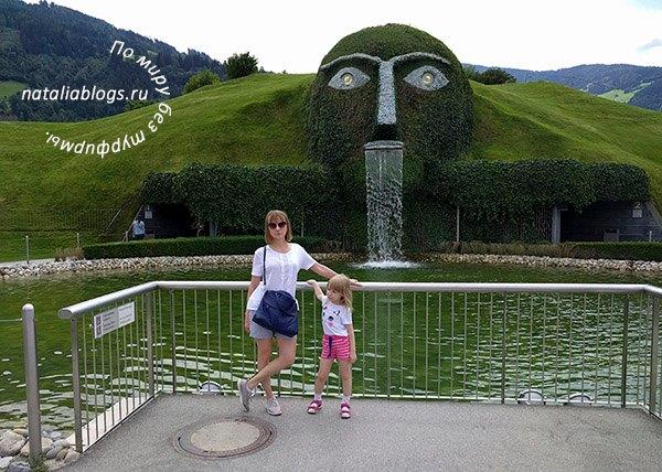 музей Сваровски в Инсбруке летом 2018