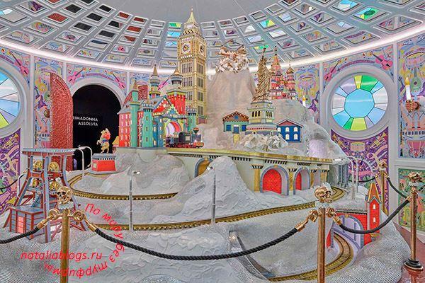 Австрия. Ваттенс под Инсбруком. Фото музея Сваровски. Зима летом. Кристальный снег и достопримечательности мира