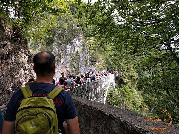 Мост Марии (Нойшванштайн). Альпы. Германия