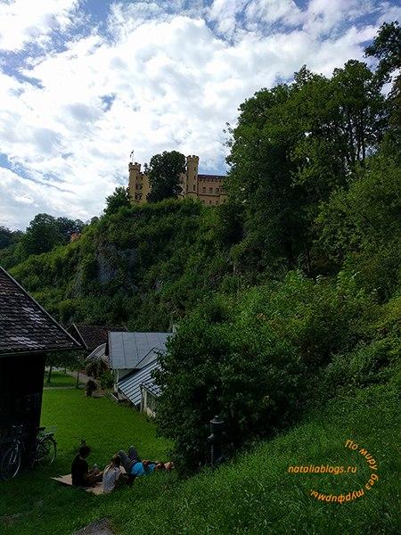 Баварские замки Нойшванштайн и Хоэншвангау. Фото из путешествия по Европе самостоятельно