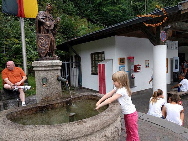 Немецкий замок Нойшванштайн. Отзывы туристов (наш отзыв). ДеревняХоэншвангау. Информационный центр