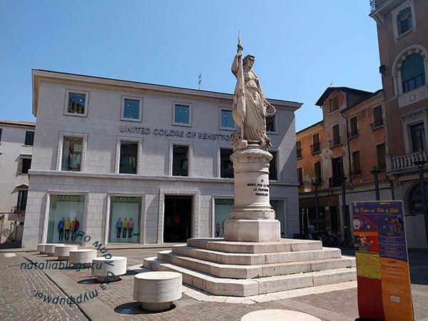 Италия. Тревизо (Венето). Фото города и описание