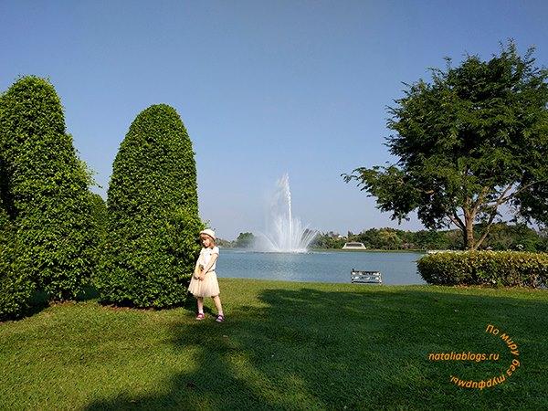 Что можно посмотреть в Бангкоке за 5 дней. Лучший парк с варанами. King Rama IX Park. Как добраться. Время работы. Отзывы