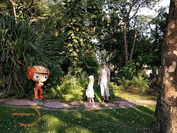 Что посмотреть в Бангкоке кроме храмов с детьми. King Rama IX Park