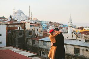 Идеи подарков на День Святого Валентина - Европа и Азия одновременно! Стамбул