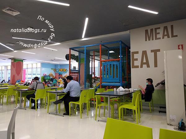 Таиланд стоимость питания в кафе в торговых центрах