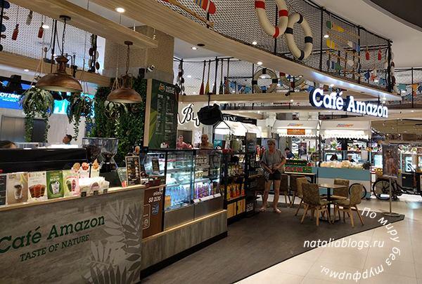 Таиланд /питание /отзывы. Кафе и рестораны в торговых центрах