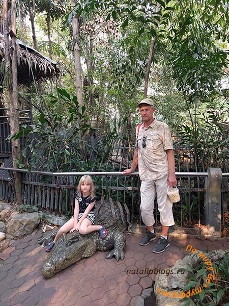 В Safari World в Бангкоке сбежал крокодил