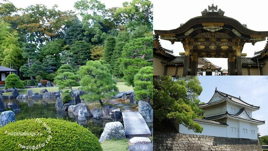 Замок Нидзё Nijo Castle - соловьинные полы