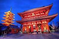 Район Асакуса. Храм