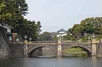 Императорский дворец Токио. Фото моста
