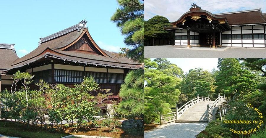 Императорский дворец в Киото. Поющий пол